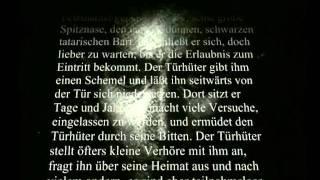 Franz Kafka - Vor dem Gesetz [Text + Musik] [HQ]