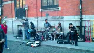 MUTEFISH in Temple Bar, Dublin