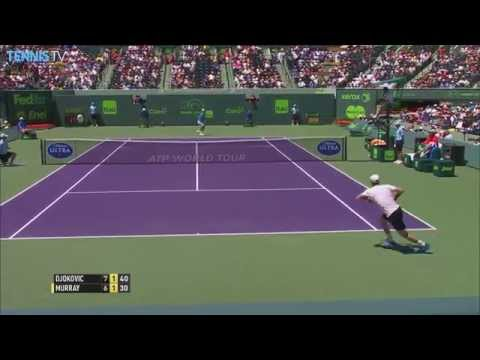 2015 ATP Miami Open Final Highlights - Novak Djokovic v Andy Murray