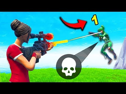 *1 DAMAGE* WITH A SNIPER?! - Fortnite Funny Fails and WTF Moments! #527