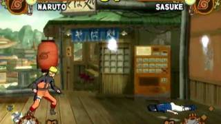Naruto Shippūden: Ultimate Ninja 5 (PS2 Gameplay)