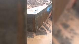 Colapso de pandereta en Antofagasta