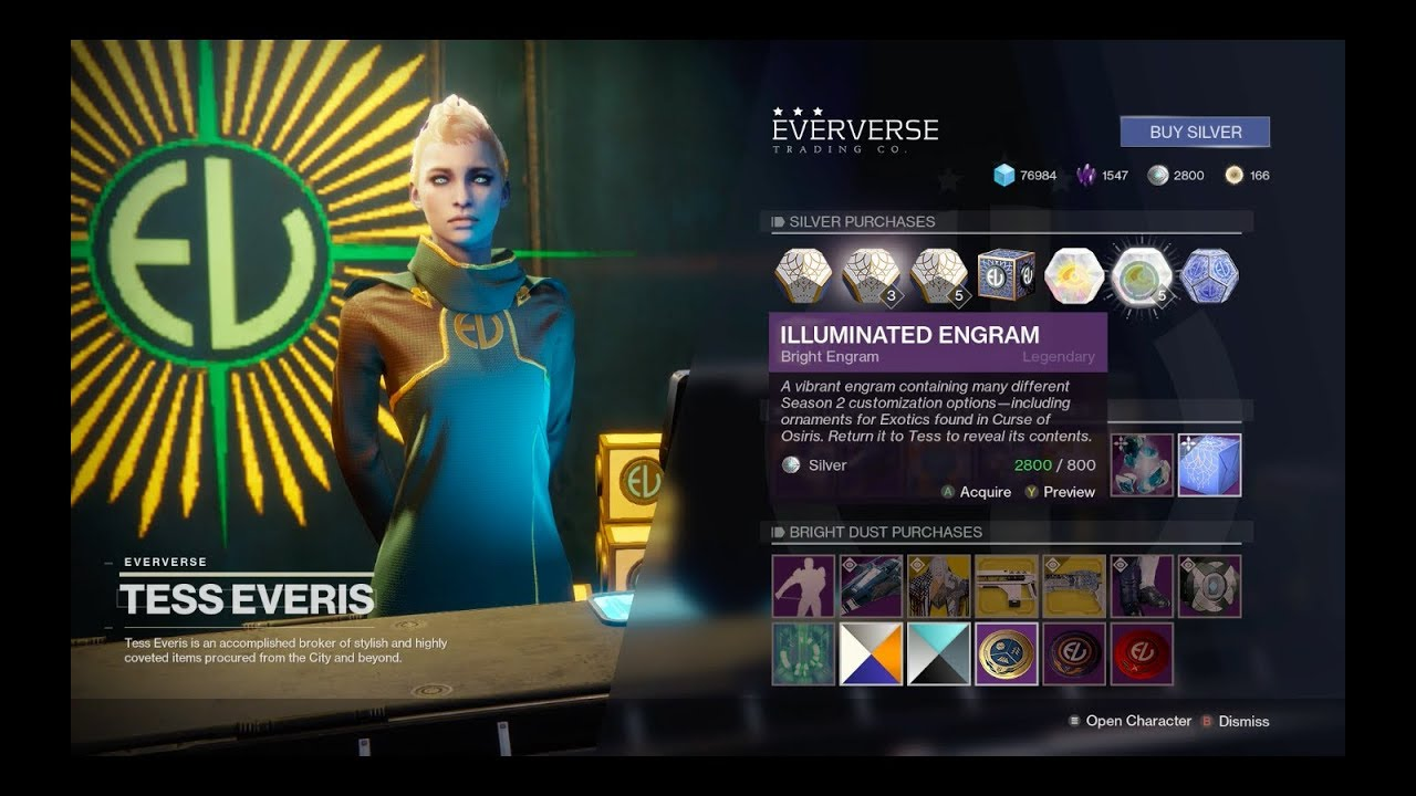 Destiny 2- Is Buying Silver Worth It