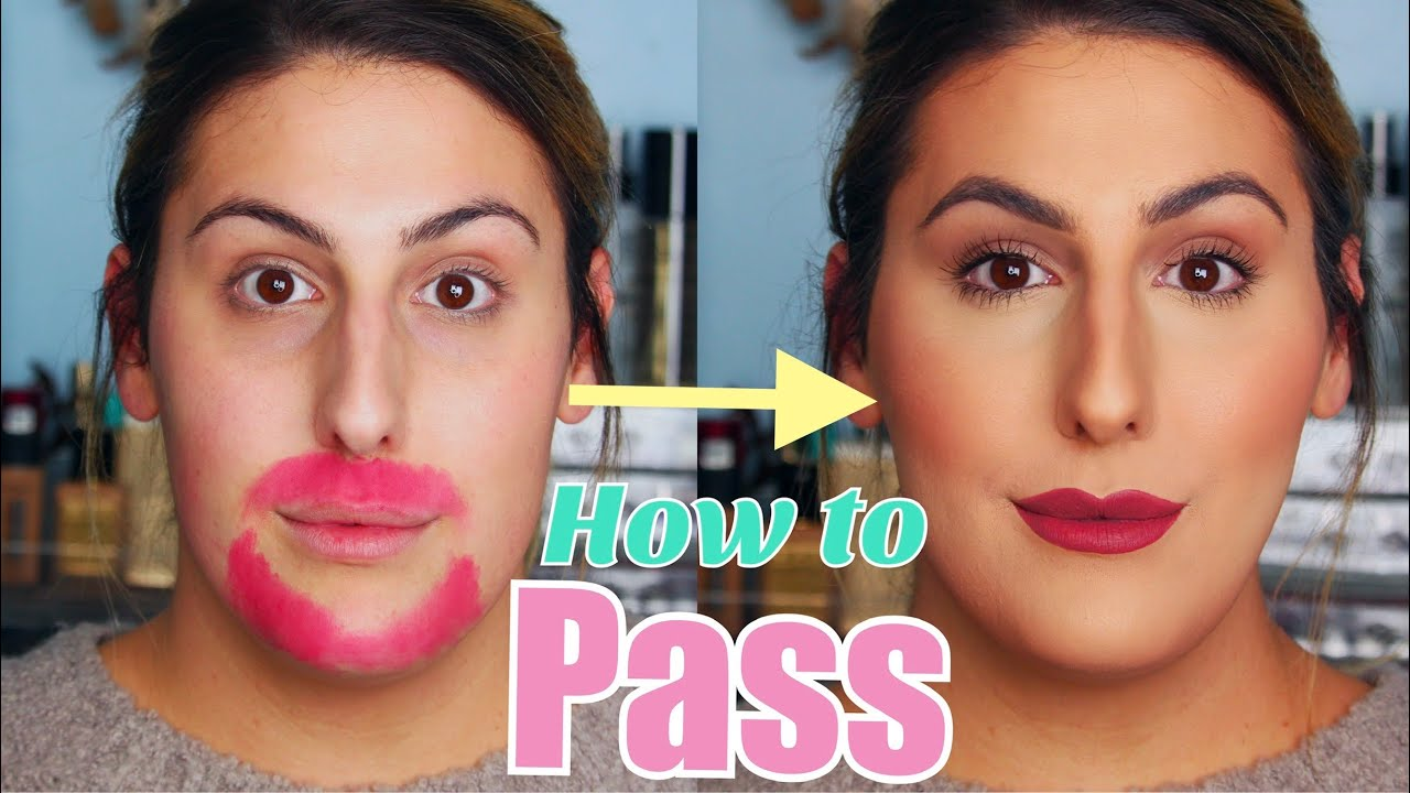 How to Pass!  MAKEUP FOR TRANSGENDER WOMEN!