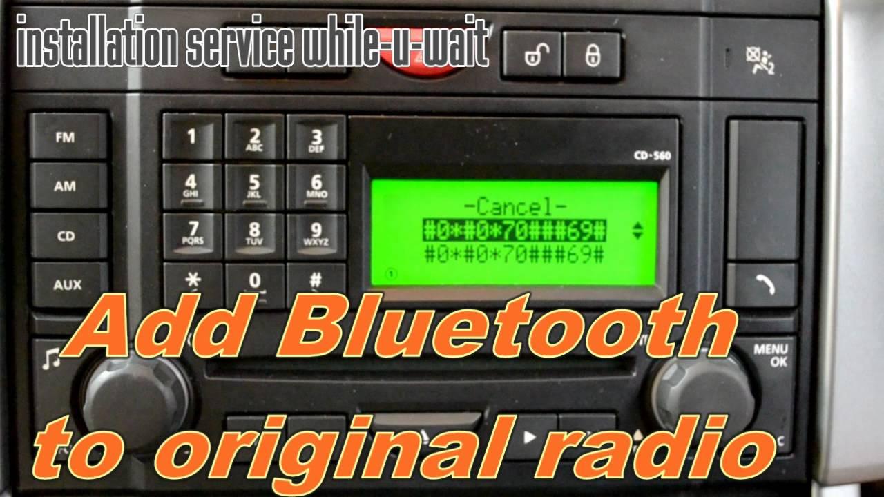 Retrofit Original Bluetooth To Landrover Youtube