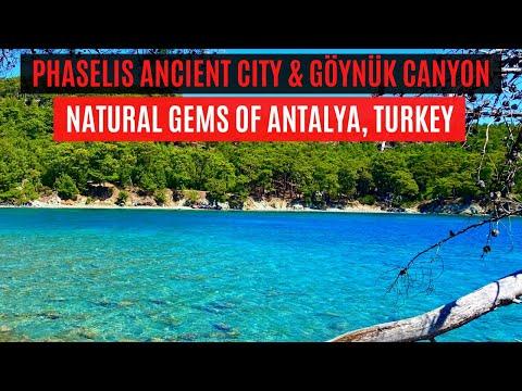 NATURAL GEMS OF ANTALYA, TURKEY | Phaselis Ancient City & Göynük Canyon