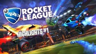 FUN & RAGE - Rocket League Highlights #1