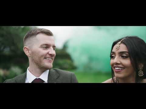 Mev & Hal - Hilltop country house wedding trailer