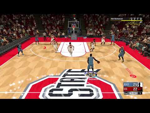 99 overall 6'10 PURE POINT FORWARD SID SICKSEVAN IS SID 6.7 REALITY MEETS VIRTUAL REALITY