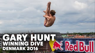 Gary Hunt's Impressive Winning Dive in Denmark | Cliff Diving World Series 2016