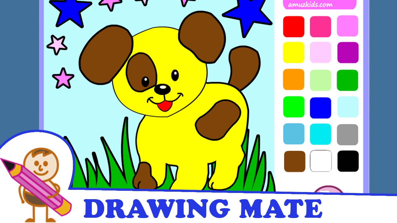 Puppy Coloring Pages Coloring Dog Kolorowanki Malowanki Dla