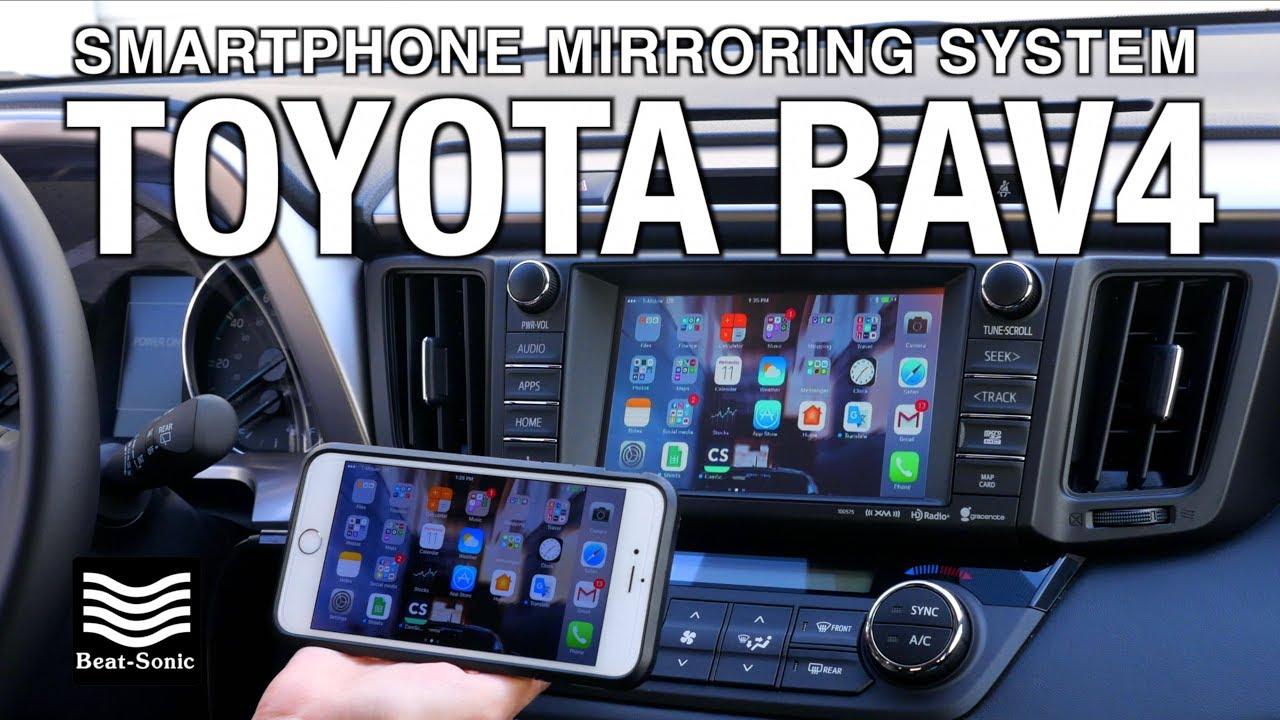 Demonstration 2014 2018 Toyota Rav4 Smartphone Mirroring