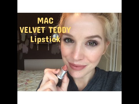 mac-'velvet-teddy'-lipstick-review