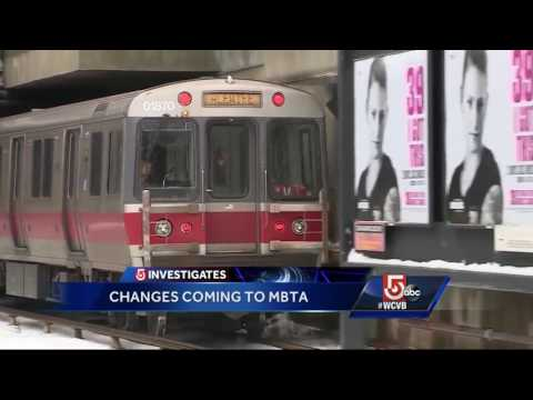 Changes coming to MBTA