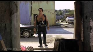 Сцена с метанием ножа фильм Отчаянный (Desperado 1995)