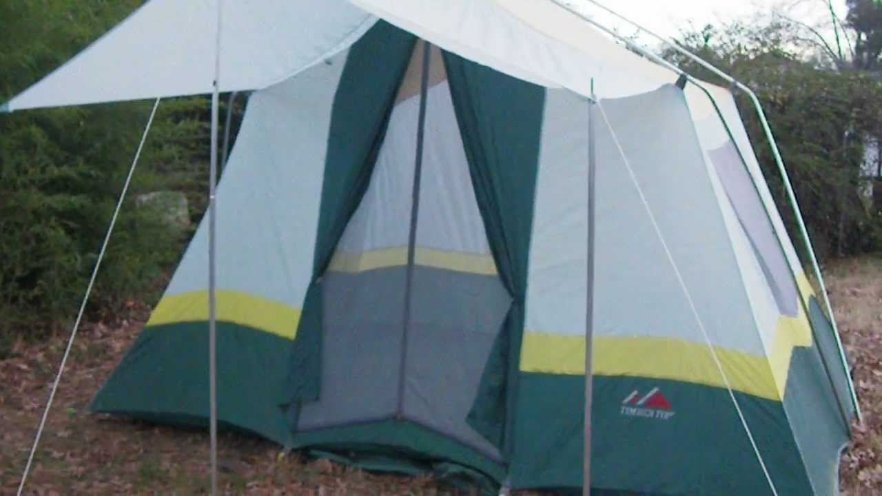 & Timber Top Tent - YouTube
