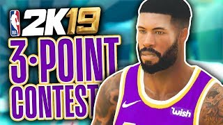 3 POINT CONTEST!!! | NBA 2K19 My Career Mode