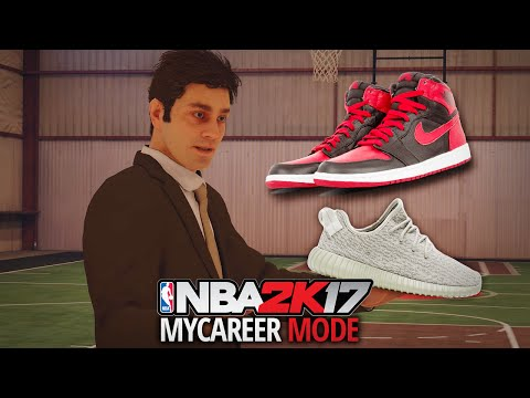 NBA 2K17 My Career - Ep. 4 - GETTING A SHOE DEAL!! JORDAN? NIKE? UNDER ARMOUR?