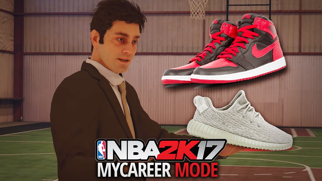 NBA 2K17 My Career - Ep. 4 - GETTING A SHOE DEAL!! JORDAN? NIKE? UNDER  ARMOUR?