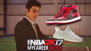 nba 2k17 my career ep 4 getting a shoe deal jordan nike under armour