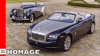2018 Rolls-Royce Dawn  - Homage To A Special Silver Dawn