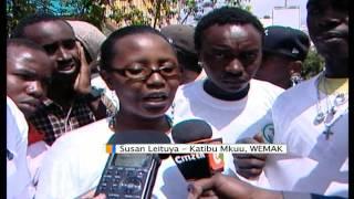 Wazoaji Taka Wapinga Utaratibu Mpya Wa Serikali,Nairobi