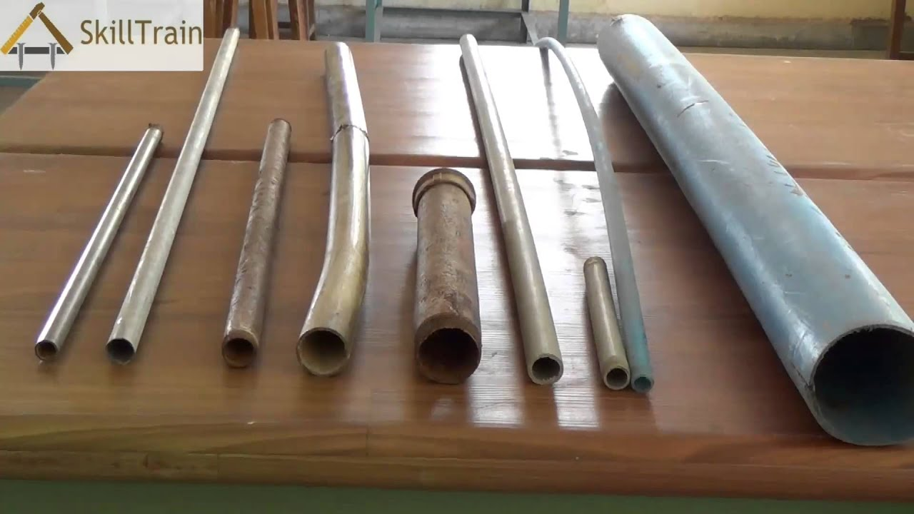 Introduction to different types of plumbing pipes hindi for Types of plumbing pipes materials