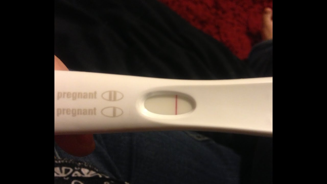 7dpo We Took An Evening Pregnancy Test Youtube