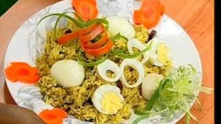 Andhra Non-veg Recipes - Keema Pulao - Mutton Korma - 02