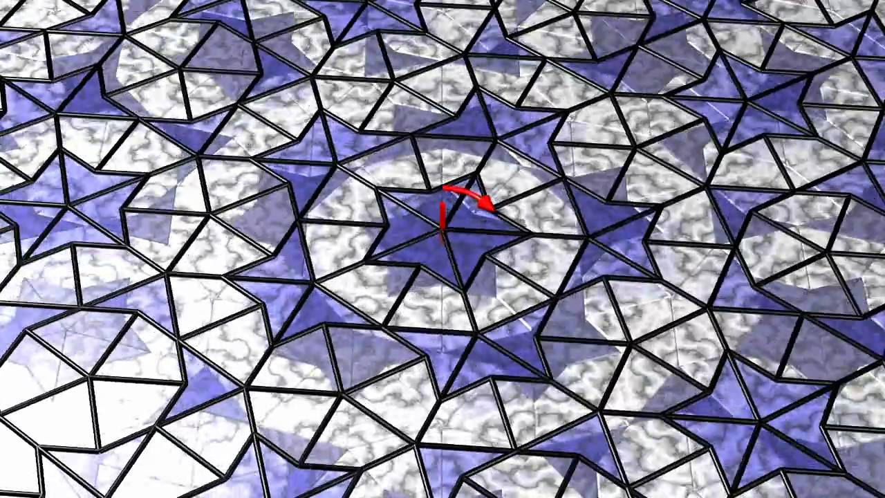 Animated penrose tiling part 2 youtube dailygadgetfo Image collections
