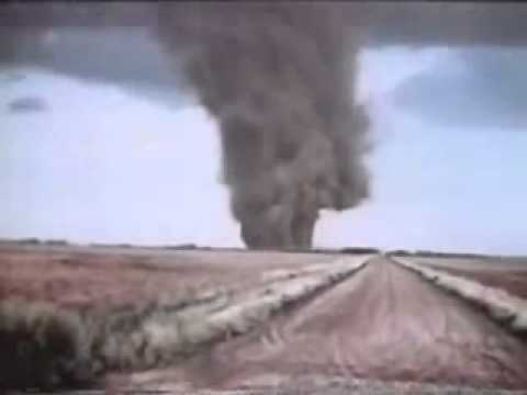 Great Bend, Kansas Tornado Footage 1974