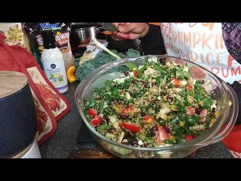 Dees Delicious Quinoa And Kale Salad