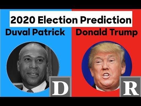 2020 Election Prediction | Deval Patrick vs Donald Trump