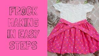 Baby girl frock making in easy steps