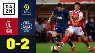 Historisches Messi Debüt & Mbappé Doppelpack:  Reims - PSG 0:2   Ligue 1   DAZN Highlights