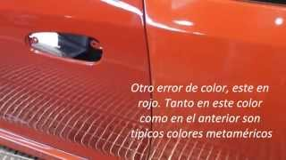 Errores en la reparación de pintura II. Solochapaypintura.com