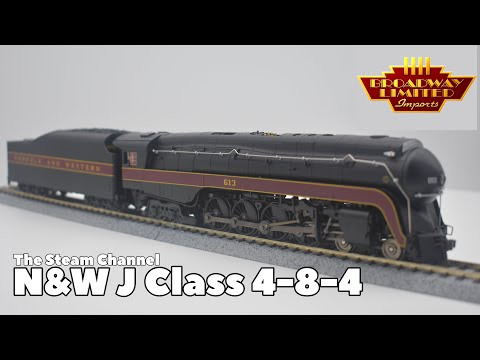 Review: Broadway Limited N&W J Class #613 Paragon 3 Sound