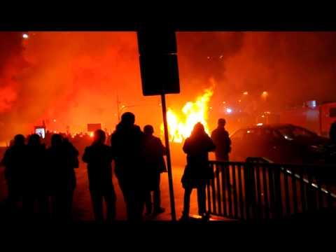 Płoną wozy TVN24 i TVN Meteo, Marsz Niepodległości