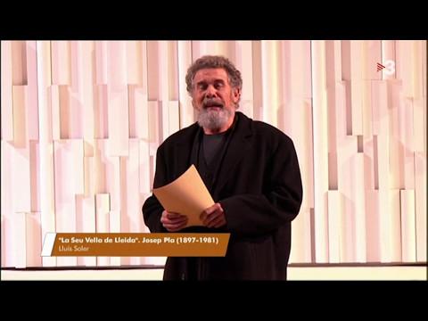 """Lluís Soler - """"La Seu Vella de Lleida""""  (Josep Pla)"""