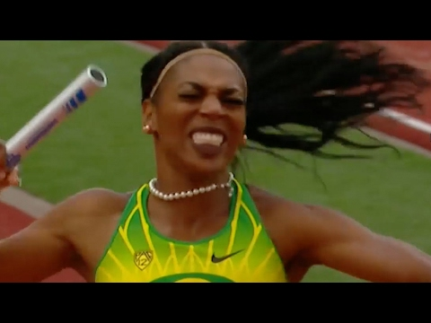 NCAA Track & Field Championships Highlights: Raevyn Rogers anchors Oregon women to 4x4, triple...