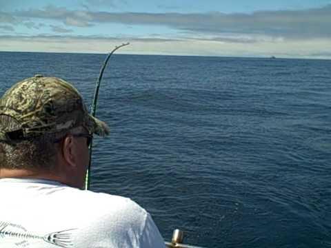 Tuna fishing off oregon coast 7 27 12 youtube for Oregon tuna fishing report