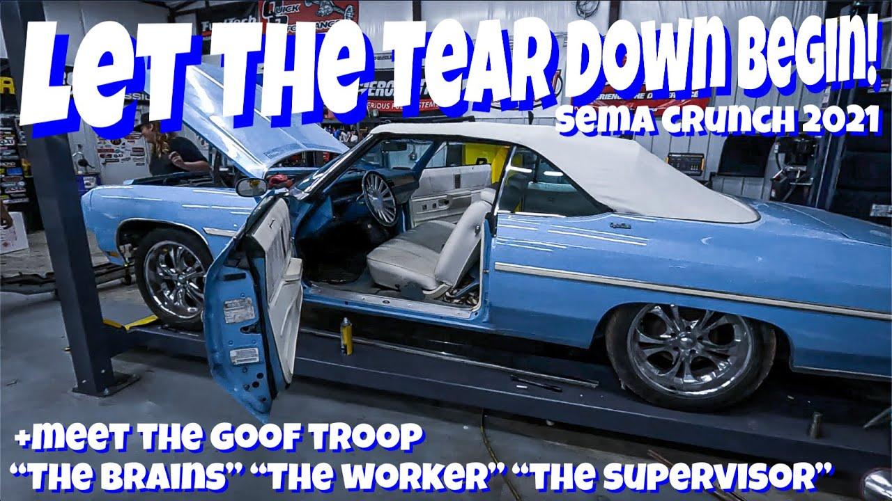 Restoring Murder Nova's 1975 Caprice Donk For SEMA 2021! Part 1: The Tear Down
