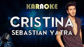 Sebastián Yatra - Cristina (Karaoke Instrumental)