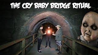 THE HAUNTED CRY BABY BRIDGE RITUAL // 5 CANDLE RITUAL