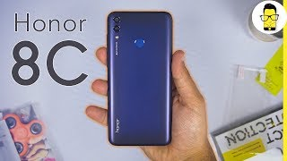 Honor 8C: Unboxing and Hands-on Review