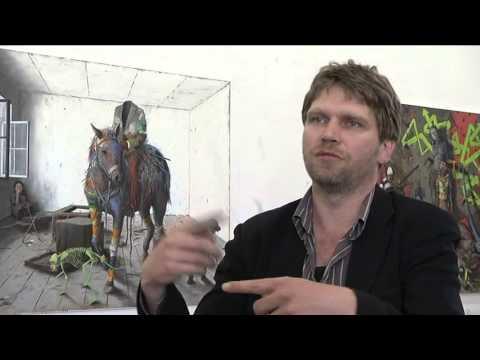 Der Berliner Künstler Jonas Burgert - Shooting Star mit Tiefgang