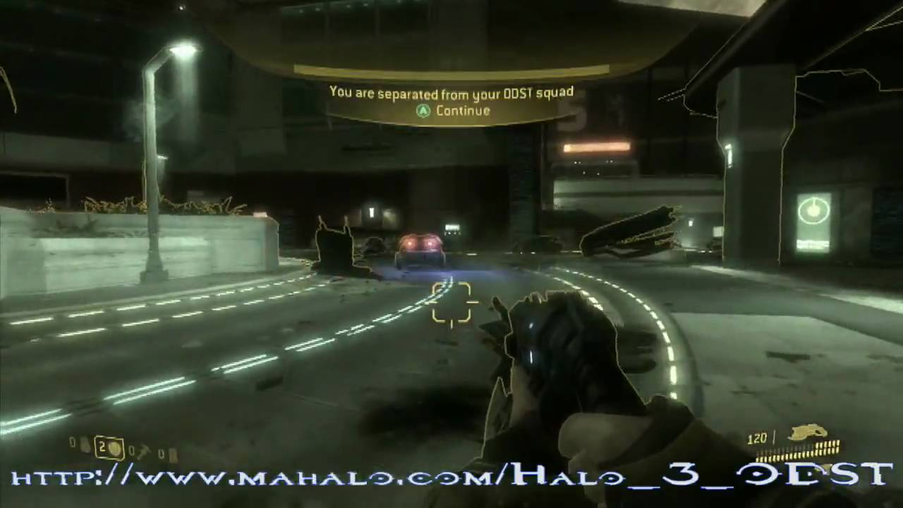 Halo 3 odst walkthrough mission 01 prepare to drop part 1