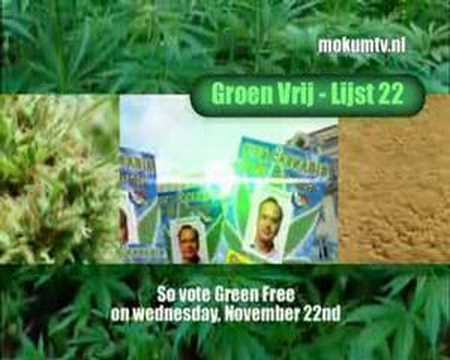 Green Free, the Dutch Cannabis Party