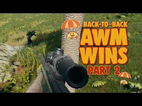 Back-to-Back AWM Games: Part 2 - chocoTaco PUBG Gameplay