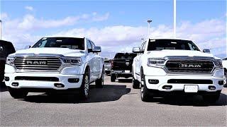 2020 Ram 1500 Limited Vs 2020 Ram 1500 Long Horn: Which Luxury Truck Is Best???